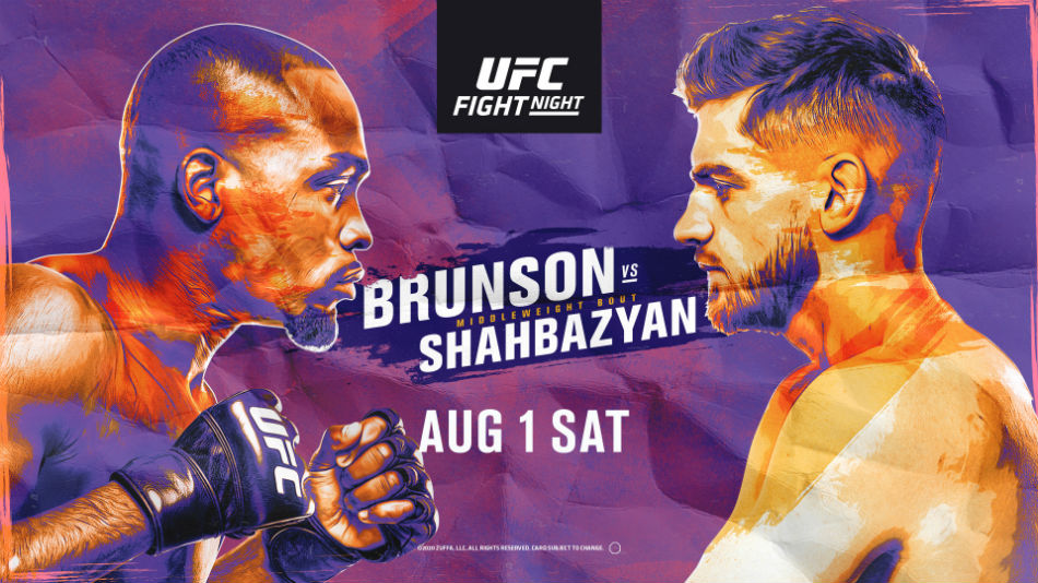 UFC Vegas 5: Brunson vs. Shahbazyan fight card, date, time and where to watch