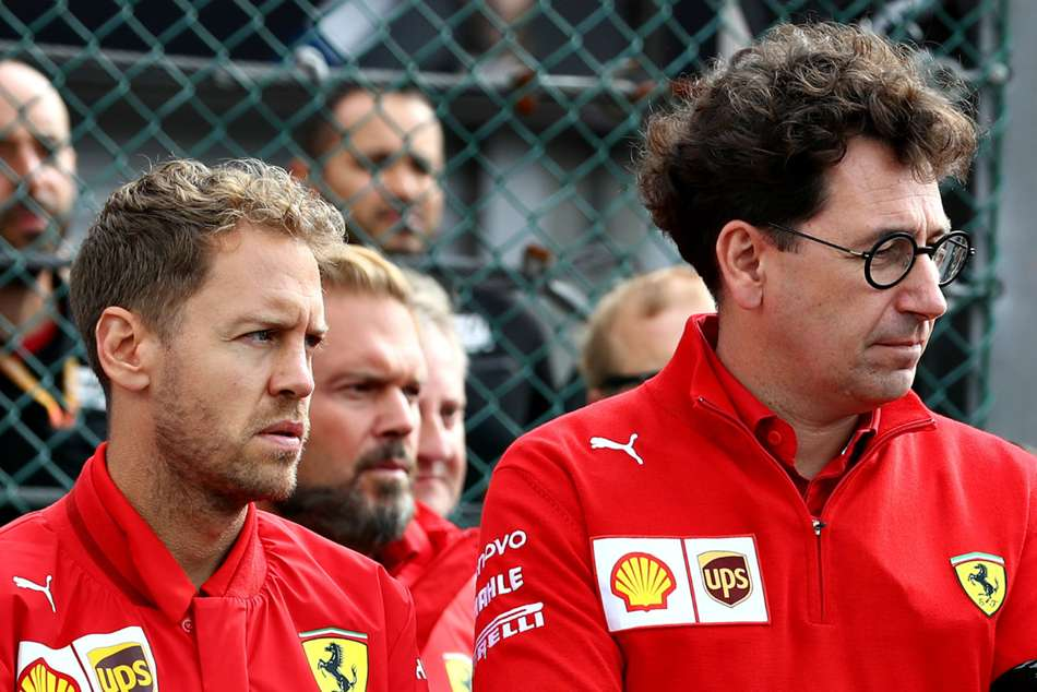 Coronavirus pandemic prompted Ferrari decision to ditch Vettel