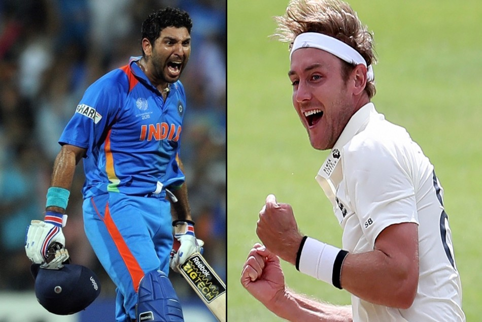 You're a legend! Hats off: Yuvraj asks fans to look beyond six sixes and laud Stuart Broad's feat...FabbyNews.com