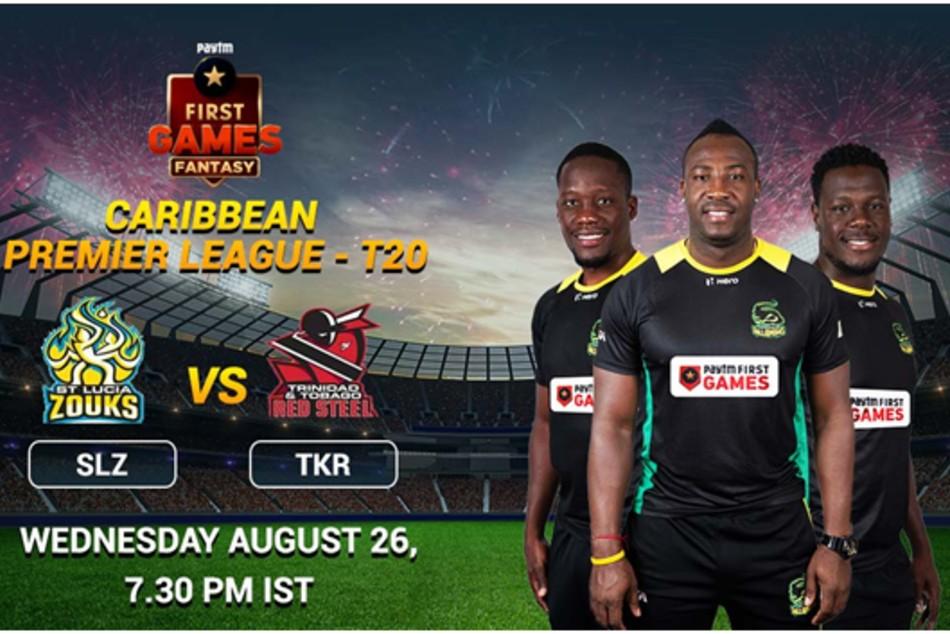 CPL 2020: Match 13: St Lucia Zouks vs Trinbago Knight Riders: Paytm First Games Fantasy Prediction
