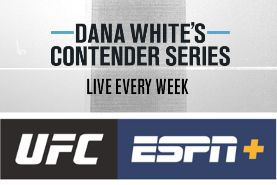 UFC: Dana White's Contender Series returns for Season Four from August 4