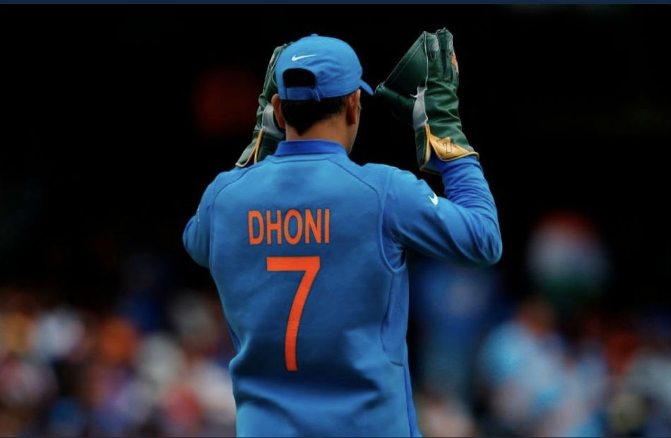 Demands raise for MS Dhonis jersey no.7 to be retired (Image Courtesy: Twitter)