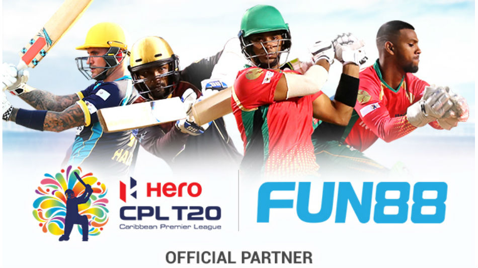 Fun88 join hands with Caribbean Premier League 2020