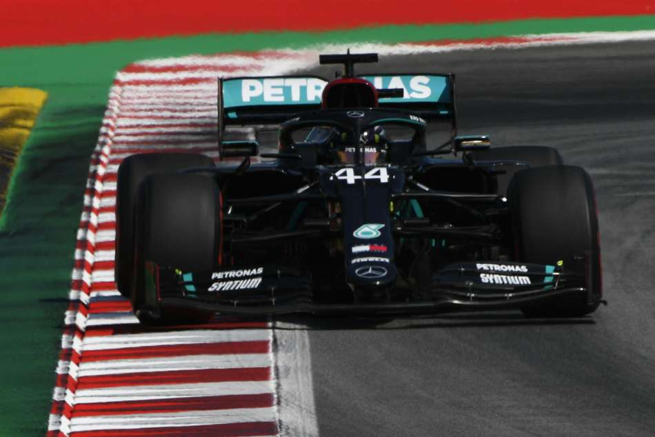 Spanish Grand Prix practice: Hamilton fastest in FP2 as Mercedes dominate