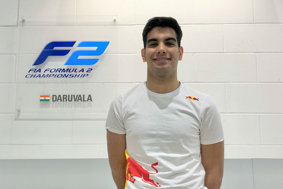Daruvala finishes creditable fourth in action-packed sprint race