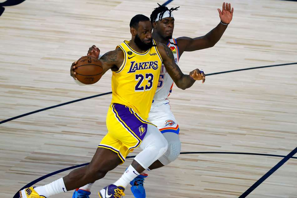 NBA wrap: Lakers fall to Thunder, Embiid leads 76ers