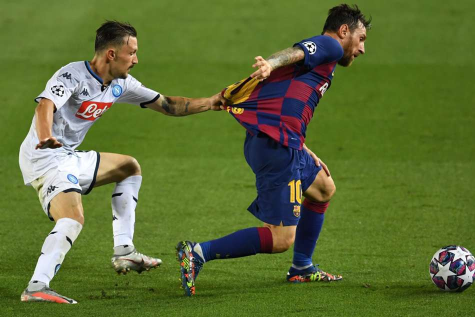Messi succeeds where Ronaldo failed as Barca battle into Champions League quarter-finals