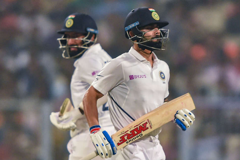 Cheteshwar Pujara and Virat Kohli often bat together in Tests as No 3 and No 4 batsmen respectively in Tests