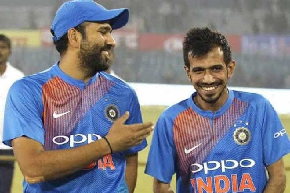 Rohit Sharma, Virender Sehwag troll Yuzvendra Chahal as he announces his engagement