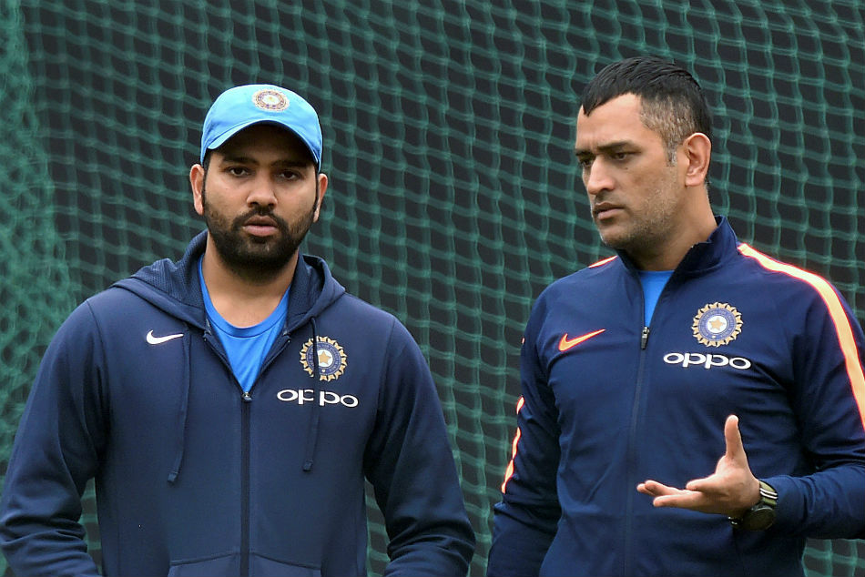MS Dhoni is one of a kind, nobody can be like him - Rohit Sharma on comparison