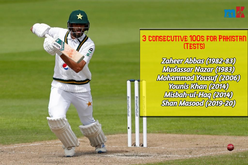 Centurion Shan Masood enters elite club