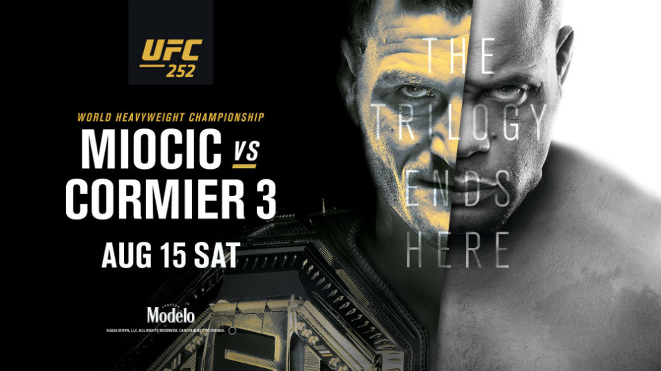 UFC 252: Miocic vs. Cormier 3 fight card, date, start time and where to watch