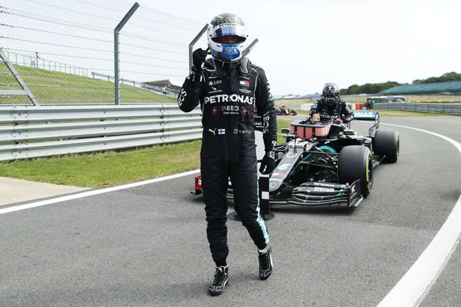 Bottas expresses Mercedes pride after following new deal with pole