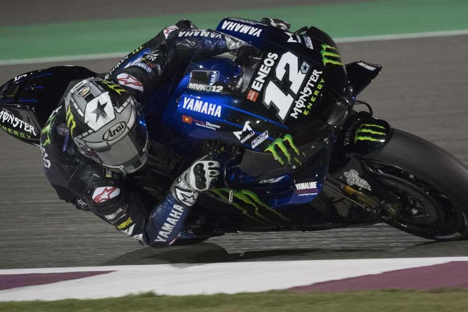 MotoGP 2020: Vinales holds off charging Miller for Austria pole