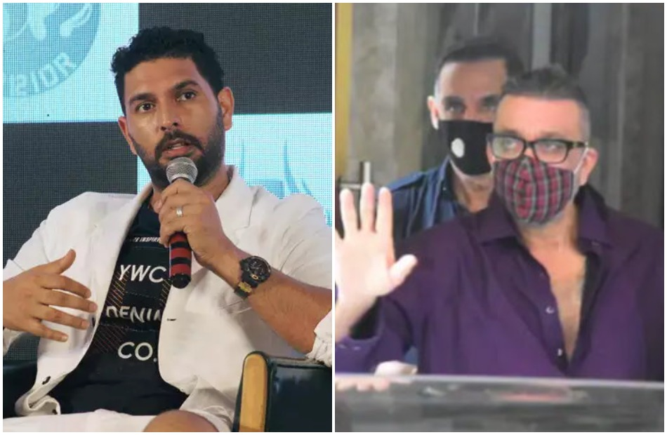 Yuvraj Singh posts an emotional message for Sanjay Dutt as reports of actor being diagnosed with cancer emerge