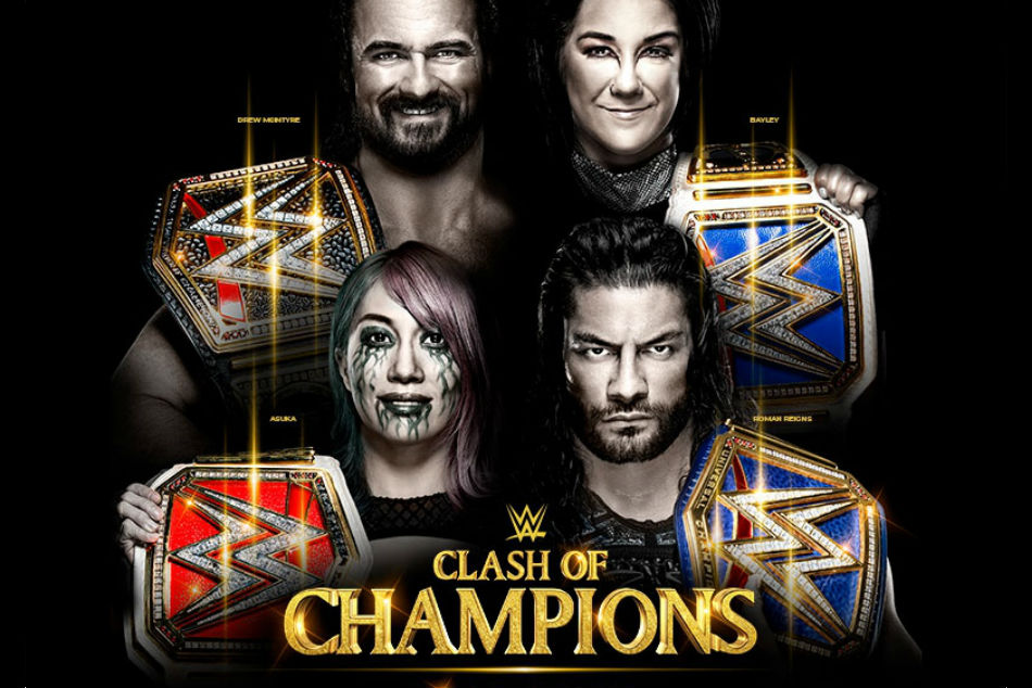 WWE Clash of Champions 2020: Match card, date, start time and where to watch