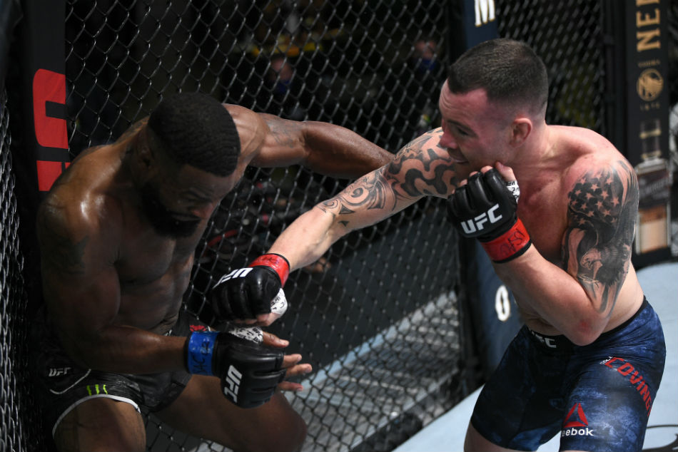 Ufc Vegas 11 Results Covington Dominates Woodley To Get Closer To Regaining Welterweight Title