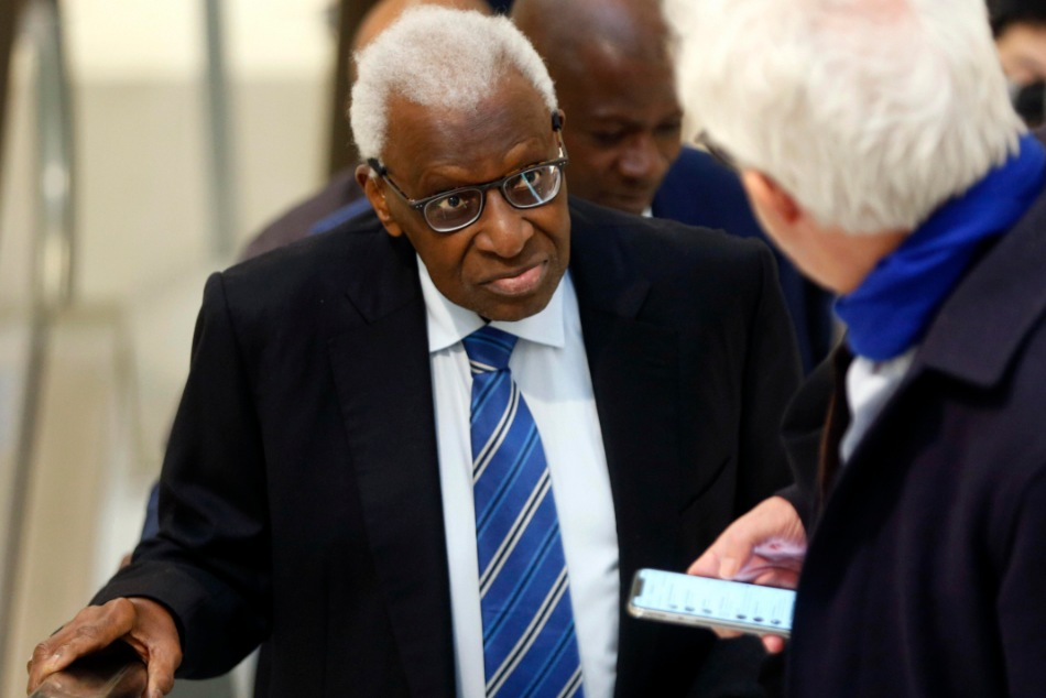 Former World Athletics head Lamine Diack sentenced to 2 years in prison