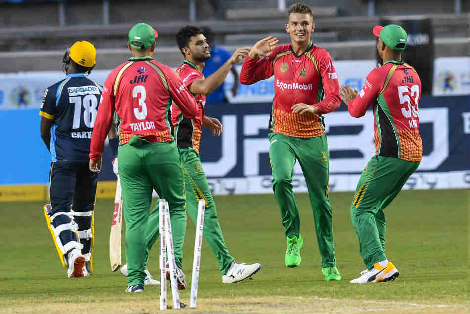 CPL 2020: Guyana Amazon Warriors rout Barbados Tridents