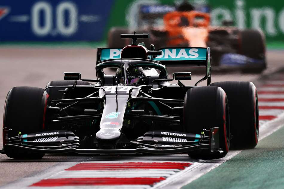 F1 2020: Hamilton survives Sochi scare to claim pole in Russia