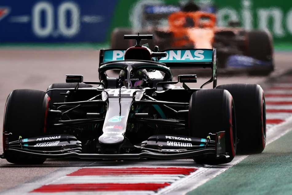 F1 2020: Hamilton survives Sochi scare to claim pole in Russia