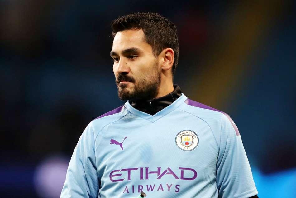 Coronavirus: Manchester City's Ilkay Gundogan tests positive