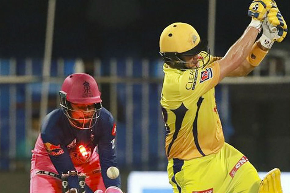 IPL 2020: 33 sixes in the CSK vs RR match is a joint highest record