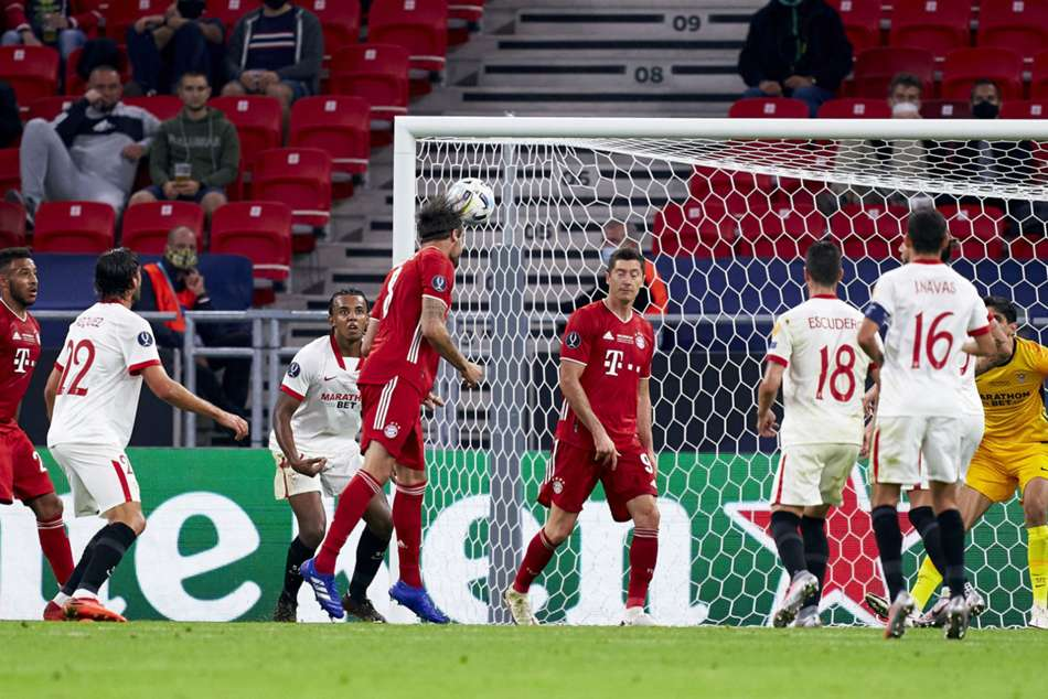 Bayern Munich 2-1 Sevilla (aet): Martinez the unlikely Super Cup hero against obdurate opponents
