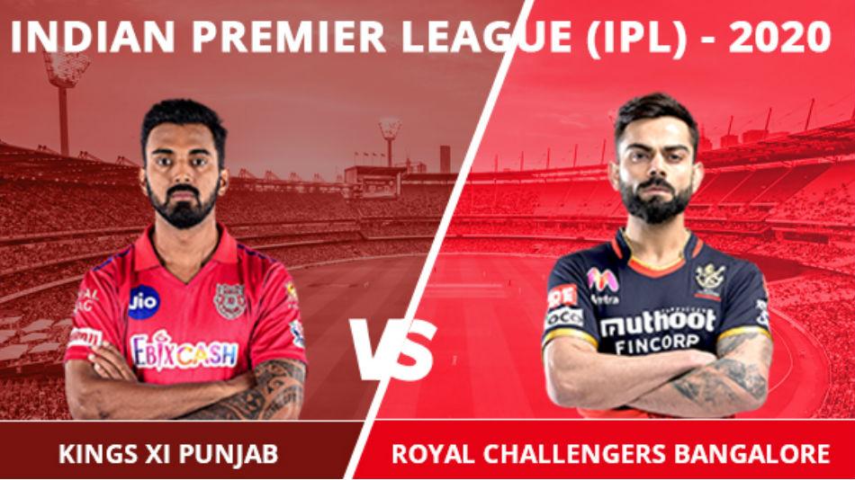 IPL 2020: KXIP vs RCB, Match 6 Updates: Kohli wins toss, invitations Rahul and co to bat first