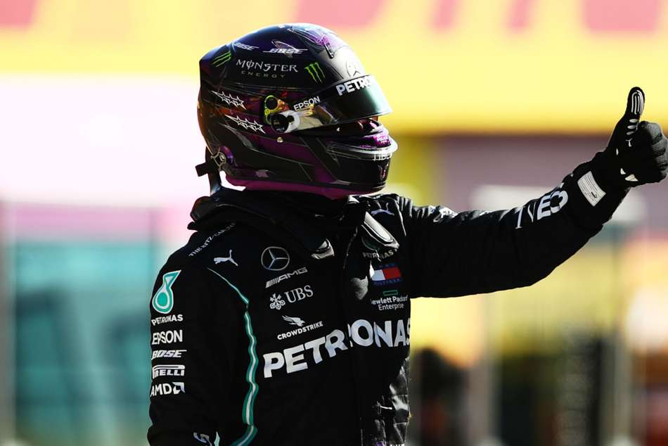 F1 2020 Hamilton Takes First Mugello Pole After Yellow Flag Costs Bottas