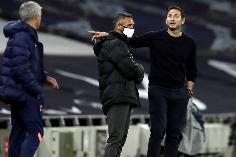 Lampard Mourinho Spurs Chelsea Efl Cup