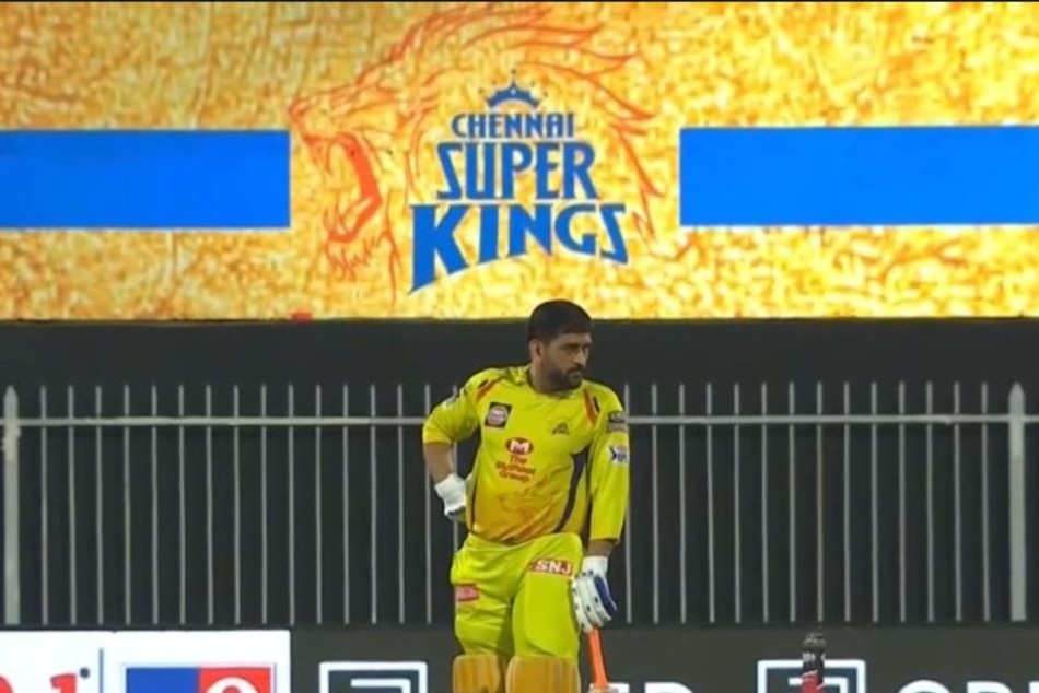 IPL 2020: MS Dhoni hits the ball out of Sharjah Stadium, passerby picks up the ball and walks away - Watch
