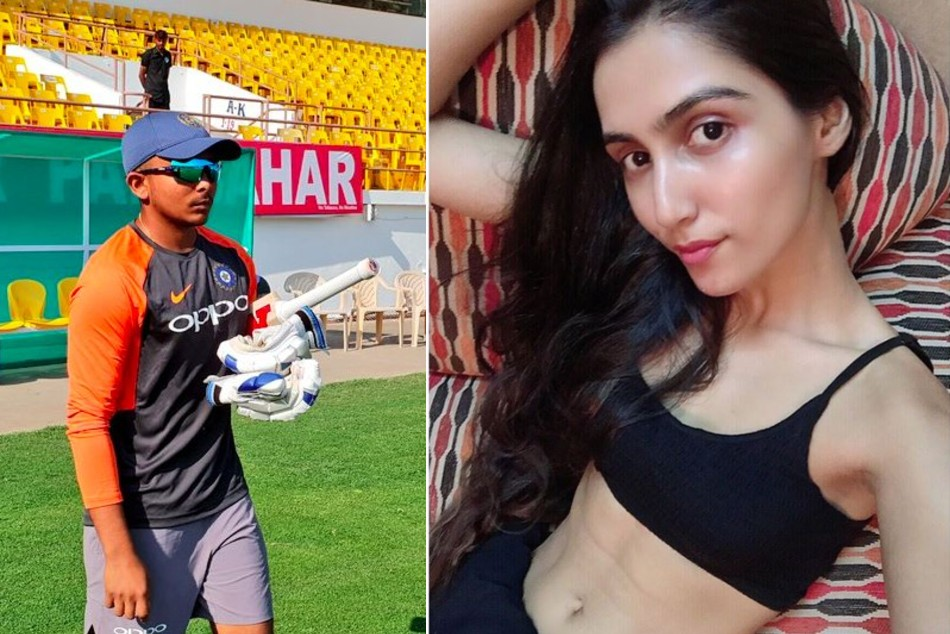 Prithvi Shaw courting TV present Udaan fame Prachi Singh? Actress' feedback on cricketer's Instagram posts spark rumours