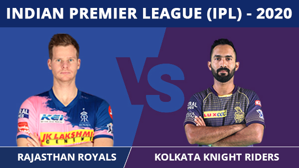 IPL 2020: RR vs KKR Match 12 Updates: Royals batsmen blown away by clinical Kolkata bowlers