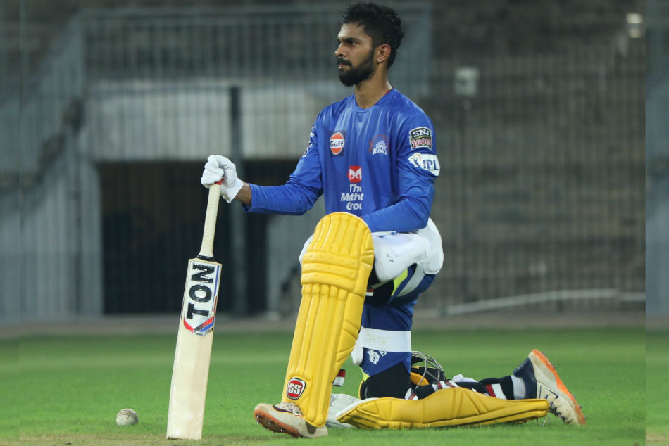 Ruturaj Gaikwad tests positive for COVID-19 again (Image Courtesy: CSK Twitter)
