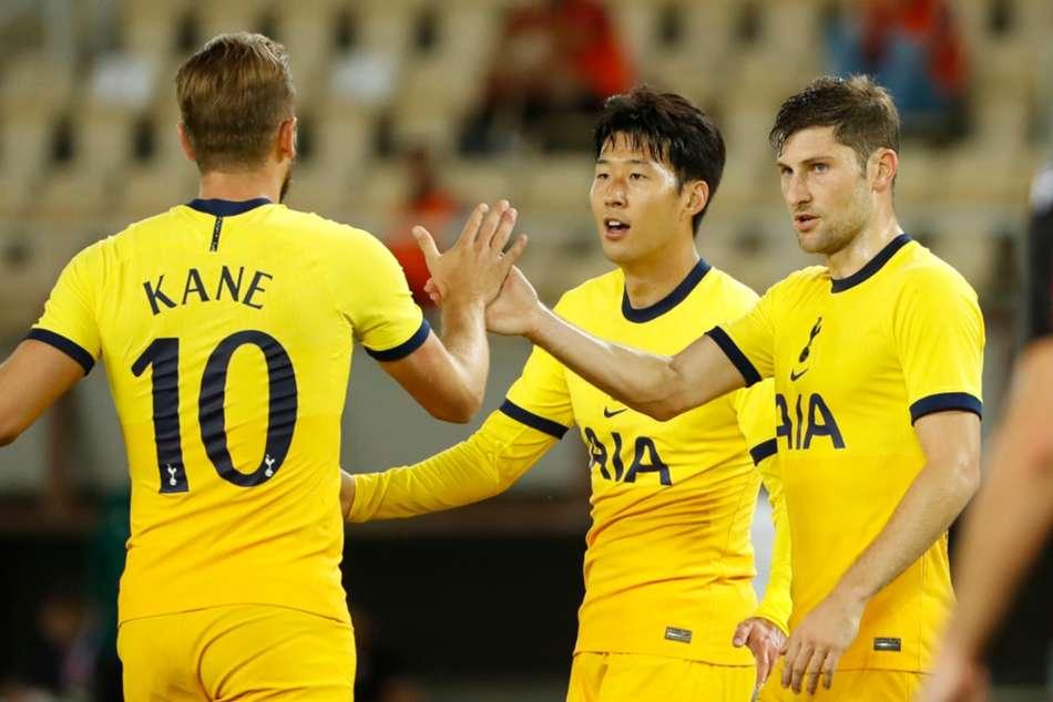 Shkendija 1-3 Tottenham: Son the difference as Spurs scrape through again