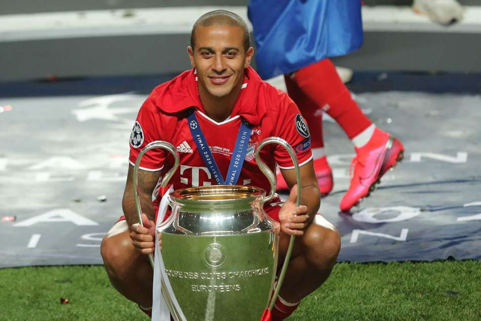 Liverpool complete swoop for Bayern star Thiago