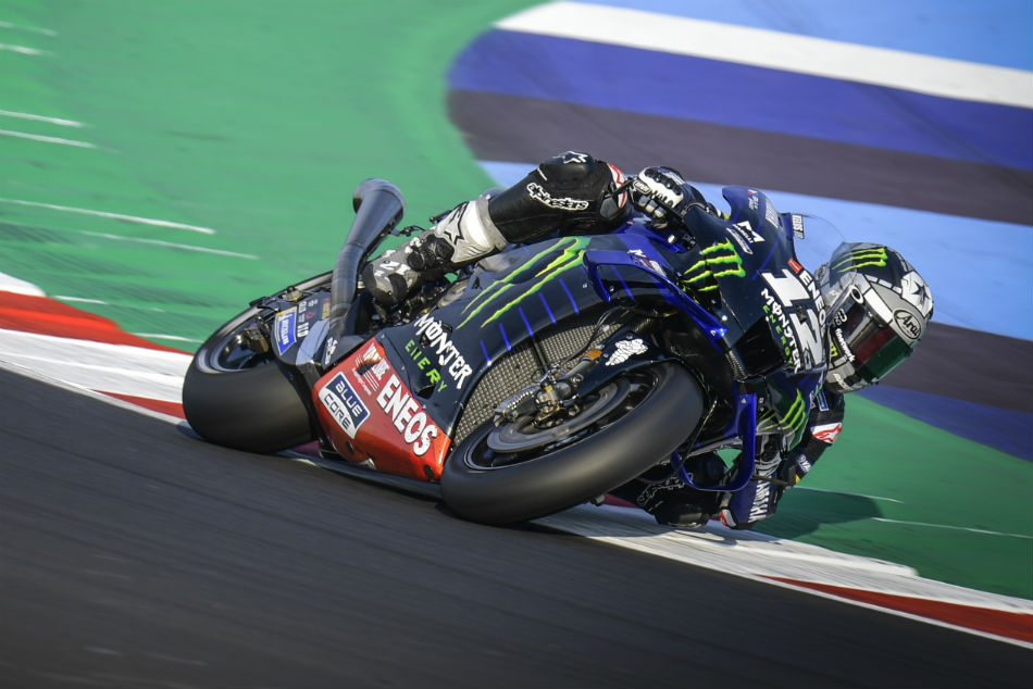 Maverick Vinales Tops Busy Misano Test