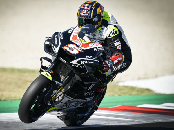 Zarco surprised
