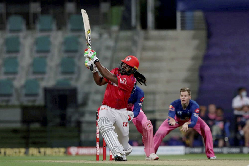 IPL 2020: KXIP vs RR: Gayle smashes 1000 T20 sixes as Rahul, Maxwell and Pooran cross milestones
