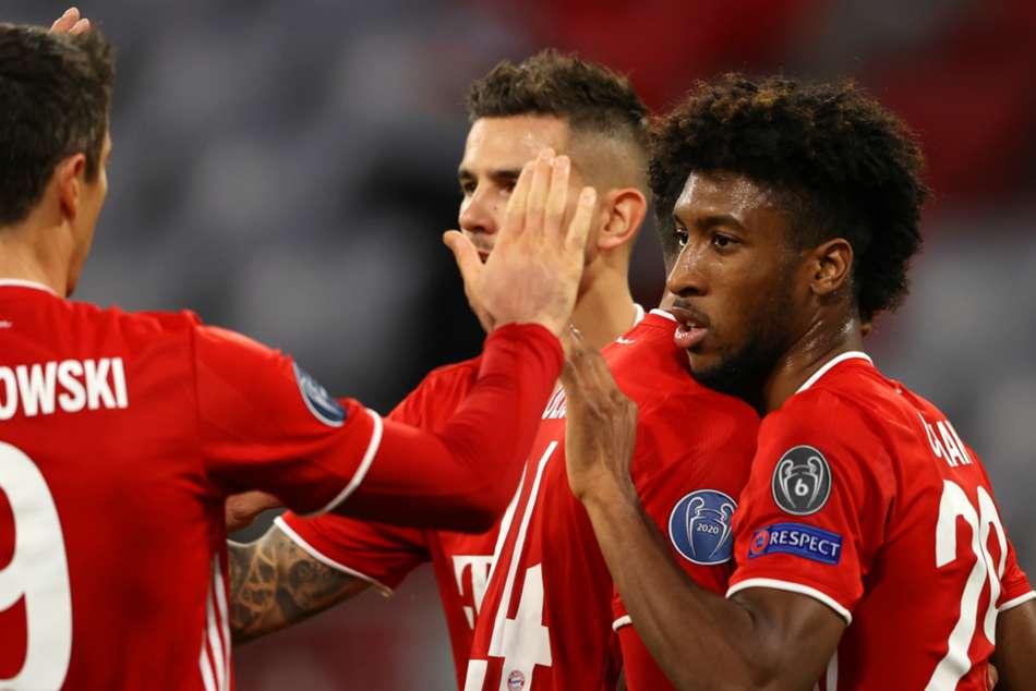 Bayern Munich 4-0 Atletico Madrid: Holders win easily as Coman stars again