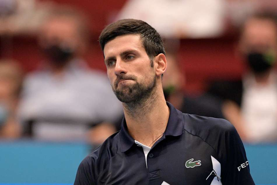 Djokovic wins just three games in shock defeat to Sonego at Vienna Open