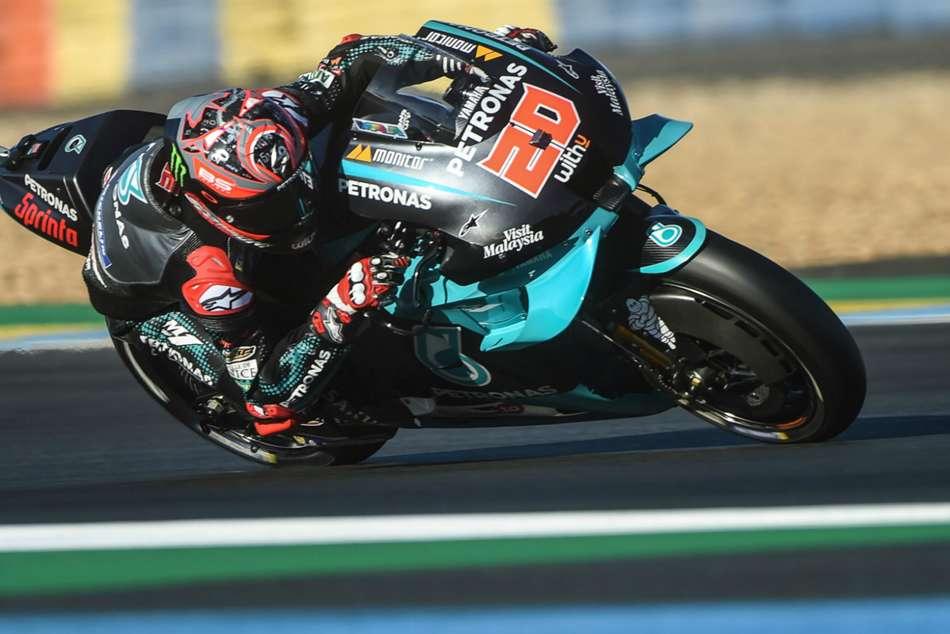 MotoGP 2020: Quartararo storms to home pole at Le Mans as Mir struggles