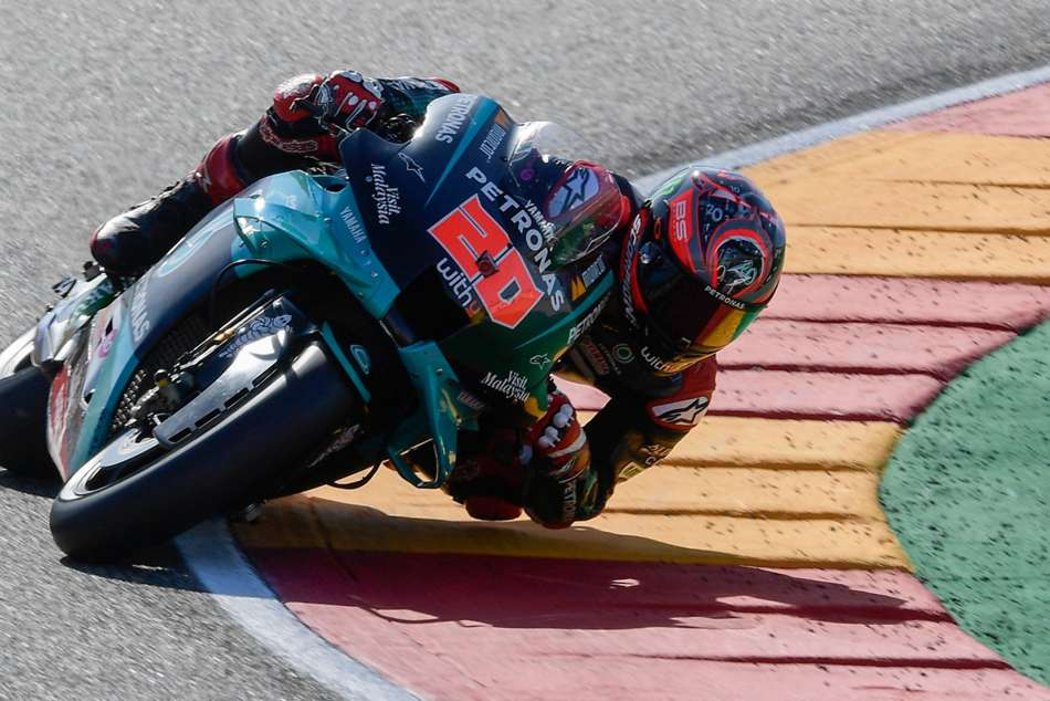 MotoGP 2020: Incredible Quartararo goes from stretcher to pole in Aragon