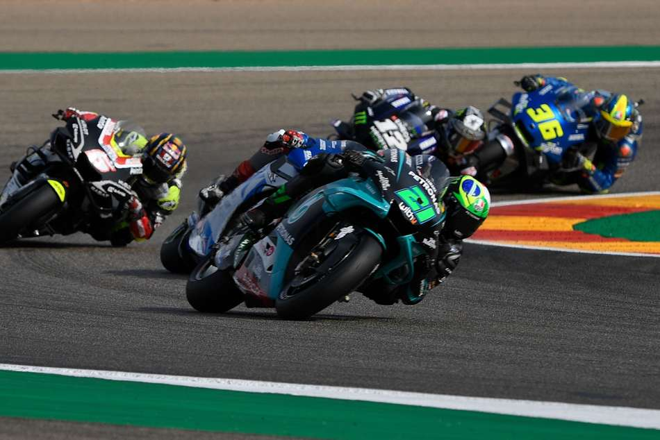 MotoGP 2020: Morbidelli makes most of Nakagami nightmare to stage late title tilt