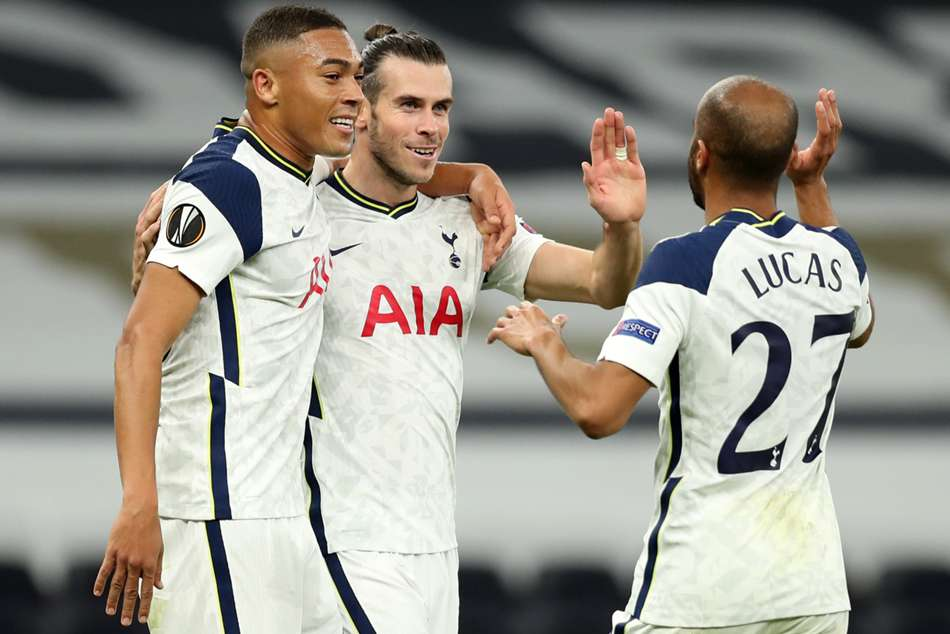Tottenham 3-0 LASK: Bale starts as Spurs ease to Europa League win