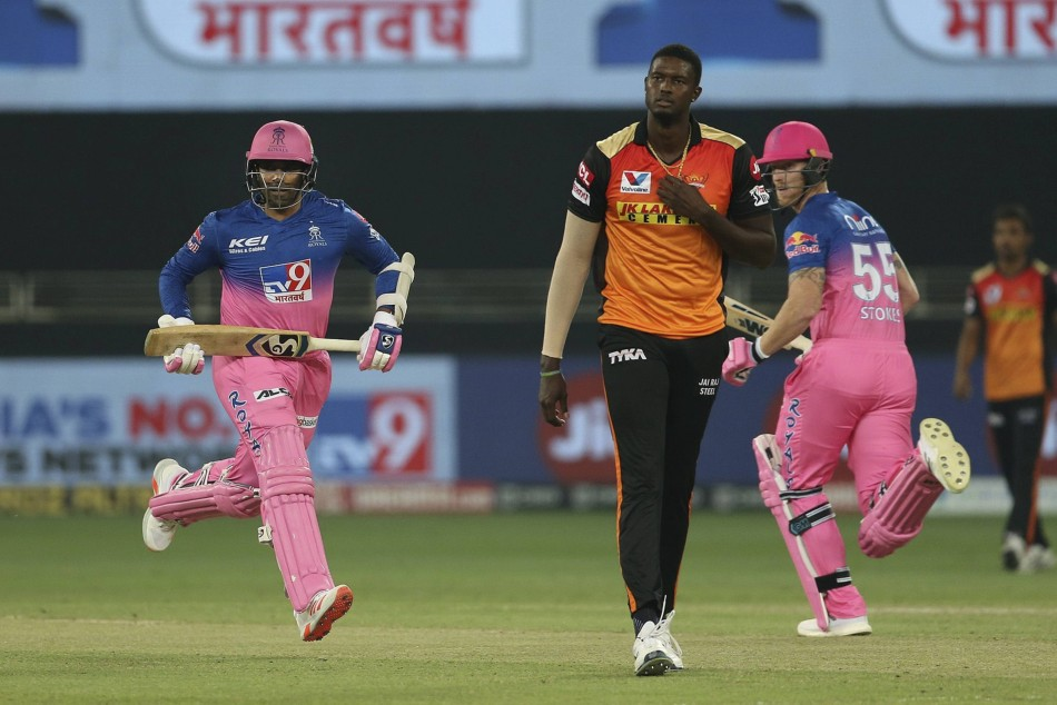 IPL 2020: SRH vs RR: Jason Holder makes his debut for Sunrisers Hyderabad, impresses with his bowling