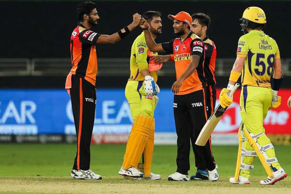 IPL 2020: CSK vs SRH: Priyam Garg, spinners hand Sunrisers slender win; Super Kings undergo third straight defeat