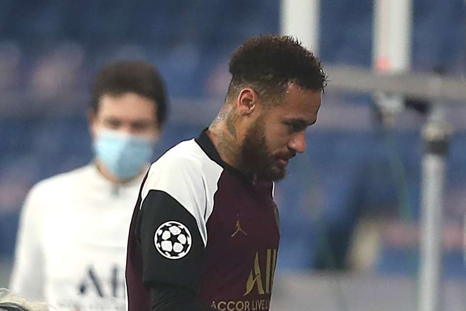 Injured Neymar out for PSG and doubtful for Brazil