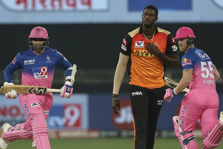 IPL 2020: RR vs SRH, Match 40, 1st innings: Jason Holder picks up three to restrict Rajasthan Royals to 154/6